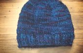 BRICOLAJE    Un sombrero sin un patrón de punto   Diseño básico fácil