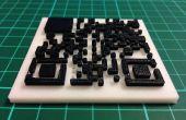 Crear 3D imprimir códigos QR (con licuadora)