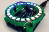 NeoPixel 24 anillo escudo Arduino