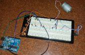 Utilizando un sensor de temperatura para controlar la velocidad de un motor utilizando arduino