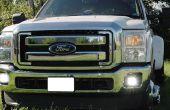 Instalar iJDMTOY Ford F250 F350 LED niebla luz