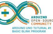 Arduino Uno Tutorial νm;1 - parpadeo básico programa