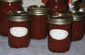 Salsa de tomate casera picante