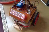 """DIY - excelente línea TRACER ROBOT sin microcontrolador"""