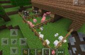 Pluma de animales de Minecraft