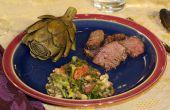 Cómo cocinar y comer una alcachofa