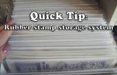 Cómo hacer fácil, rápido y barato elaboración de almacenamiento de información de sello de goma