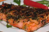 A la plancha receta salmón