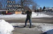 Lanzador de bola de nieve de poste