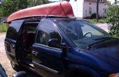 Manera fácil a cartop una canoa o barco