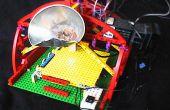 Impresora de chocolate 3D hecha de LEGO