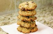 Old Fashioned Chocolate Chip galletas de avena (sin gluten)