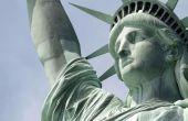 Estatua de la libertad compañero de bolsillo