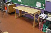 MÁS nómada muebles: Un escritorio plegable