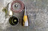 Reutilizar todo el asunto: botellas de vidrio