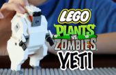 Cómo construir un Yeti de LEGO de Plants vs Zombies