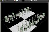 Crear un reciclado personalizado el conjunto del ajedrez (muy barato)