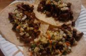 Ensalada de taco - Col Repollo y Lima