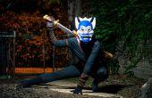 """Cómo hacer un Avatar: The Last Airbender = traje de """"El espíritu azul"""""""