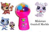 Miniatura maquina de chicles (juguete arte)