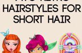 2 peinados retros para pelo corto