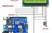 Cómo interfaz LCD (16 X 2) para arduino