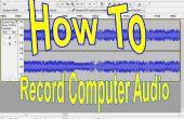 Grabar Audio de la computadora (gratis)!