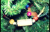 Guirnalda de Navidad árbol de corcho de vino