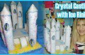 Cómo hacer un castillo de cristal con la pista de hielo