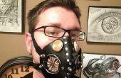 Respirador de máscara de cuero
