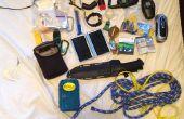Crear un Portable Bug Out / supervivencia tina 1.0 con artículos alrededor de su hogar