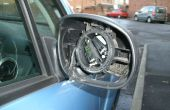 Reemplazar un espejo de ala en un Citroen C3 2006-2008