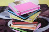 Cuaderno de disquetes viejos