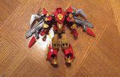 Cómo construir la armadura de poder de Phoenix con Legos