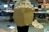 Ranurado traje de tortuga cartulina construcción