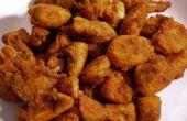 Bites de pollo picante