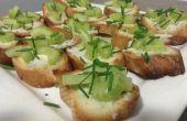 Apio y queso gorgonzola de bocado (para Aperitivo)