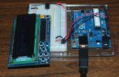 16 x 2 pantalla de LCD para ATtiny85, sólo dos clavijas