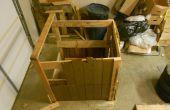 El más extraño compost de madera caja de siempre.