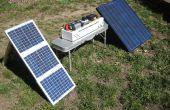 Energía de campo portátil generador solar, alimentación de emergencia--