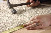INSTALACIÓN y cuidado de la alfombra