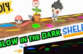 Arco iris brillan en la oscura plataforma