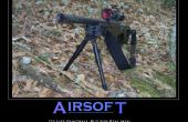 Airsoft: Compra un rifle
