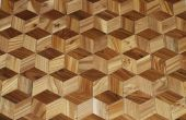 Hacer un piso de madera dura que parece 3D de tus propios árboles