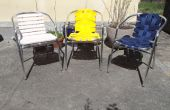 Renovar tus viejas sillas de jardín