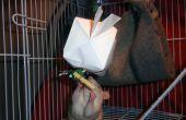 Tratamiento lleno de Origami para gatos o pequeños animales domésticos!