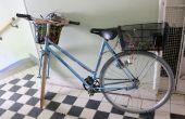 Bicicleta - sistema de purificación de agua accionado arduino (con luz UVC)