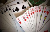 El mágico número tarjeta truco