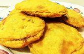 Pimiento queso galletas rellenas de mermelada de fresa