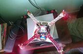 DJi F450 Quadcopter ¿cómo construir? Casa construida.
